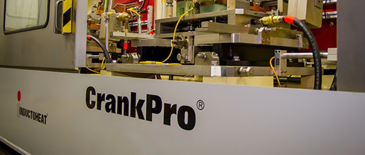 Inductoheat CrankPro™ Stationary Induction Heat Treating For Crankshafts