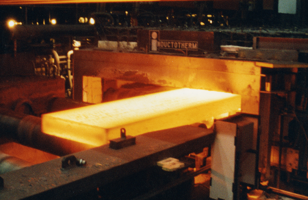 Inductotherm Slab Heating and Reheating Systems